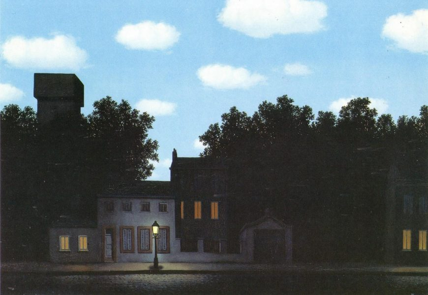 Magritte Impero Delle Luci