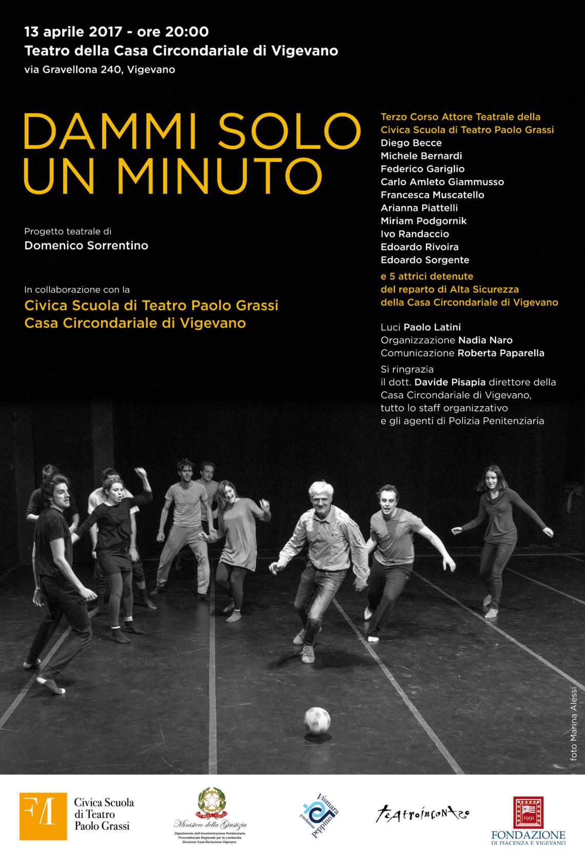 Invito Carcere Vigevano Teatro